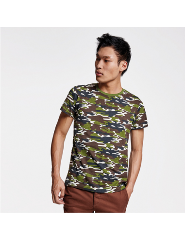 Camiseta Camuflaje Hombre Marlo