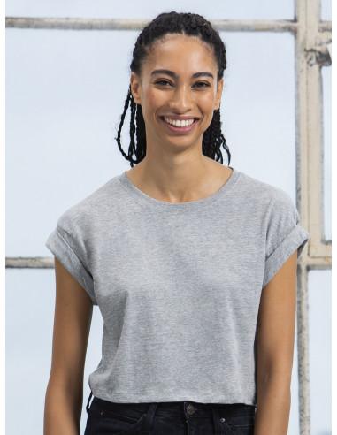 Camiseta mujer manga vuelta M96