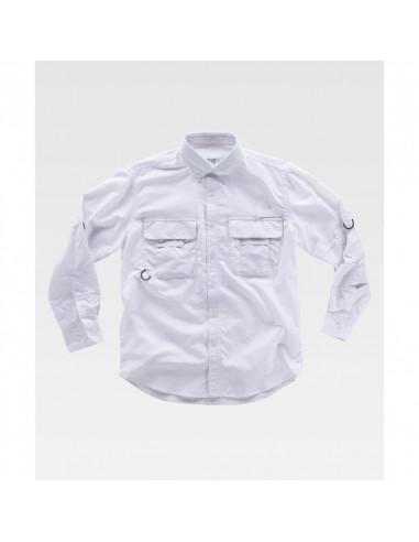Camisa Safari manga larga