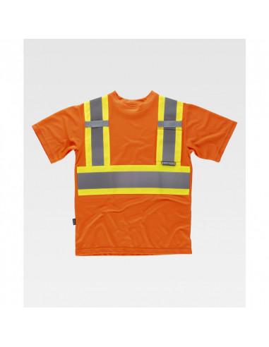 Camiseta Flúor Alta Visibilidad