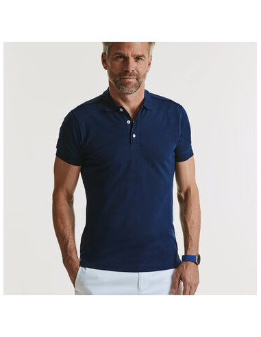Polo Russell Stretch Hombre