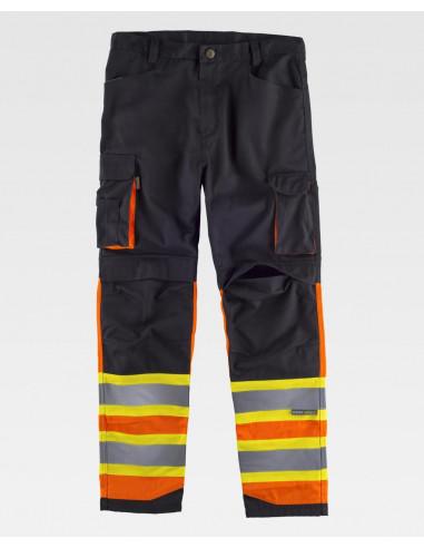 Pantalón Alta Visibilidad Combinado