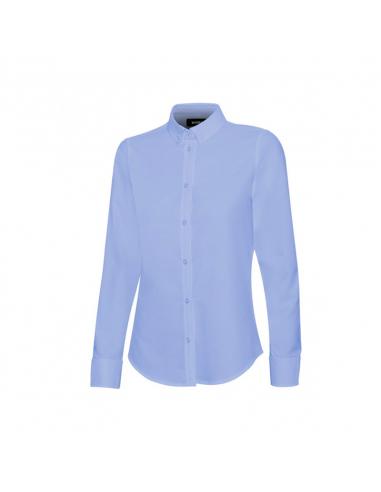 Camisa Oxford Stretch M/L Mujer