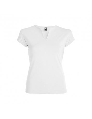 Camiseta cuello V mujer Belice
